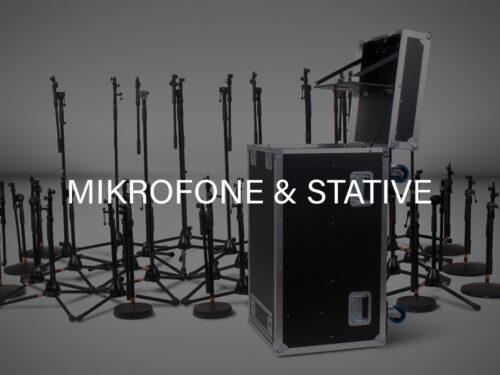 Mikrofone & Stative